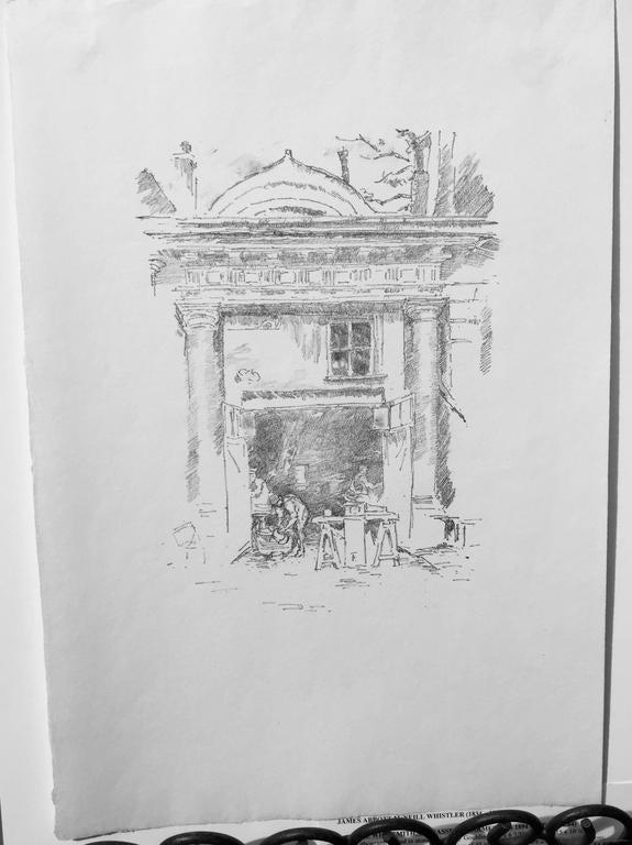 The Whitesmiths, Impresse des Carmelites - Print by James Abbott McNeill Whistler