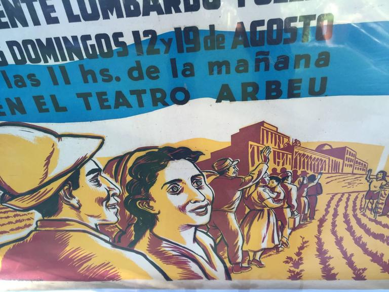 ISRAEL (1951 Mexican Homage Poster) For Sale 1