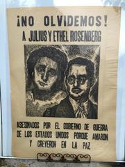 NO OLVIDEMOS A JULIUS Y ETHEL ROSENBERG