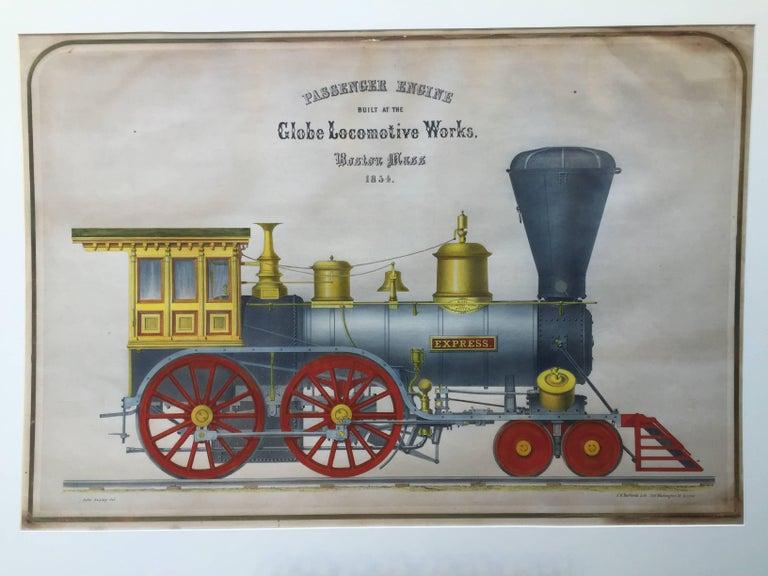 John Swyney Print - Very large - GLOBE LOCOMOTIVE WORKS