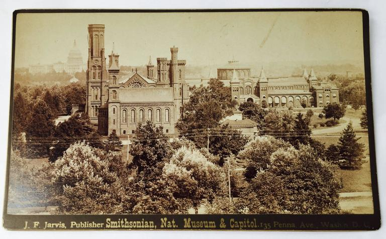 SMITHSONIAN, NAT. MUSEUM AND CAPITAL - American Realist Photograph by Unknown