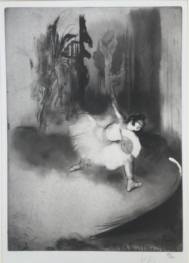 Louis Legrand Figurative Print - PETITE BALLERINE
