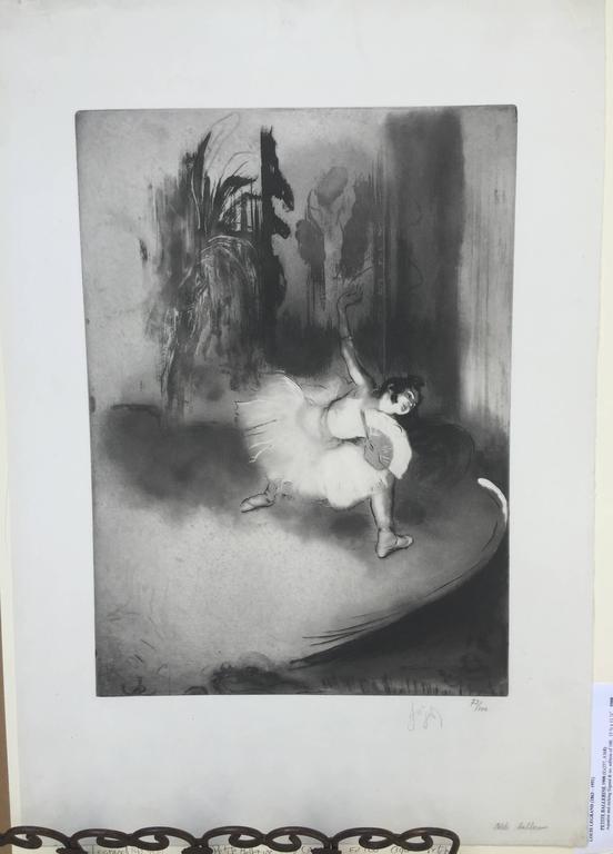 PETITE BALLERINE - Print by Louis Legrand