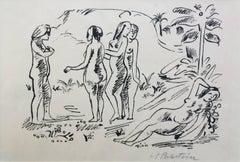FIVE NATIVE WOMEN