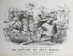CAPTURE OF JEFF DAVIS - (Dressed as a Woman)