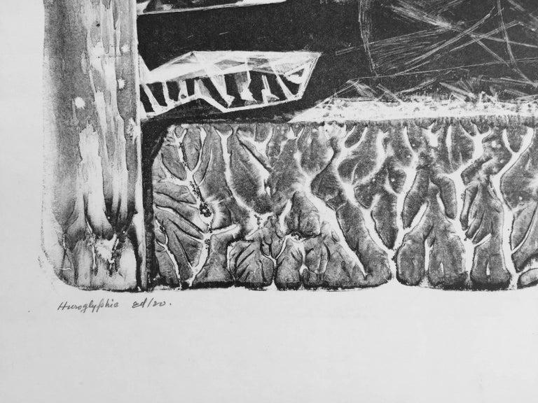 HIEROGLYPHIC - Print by John Stockton De Martelly