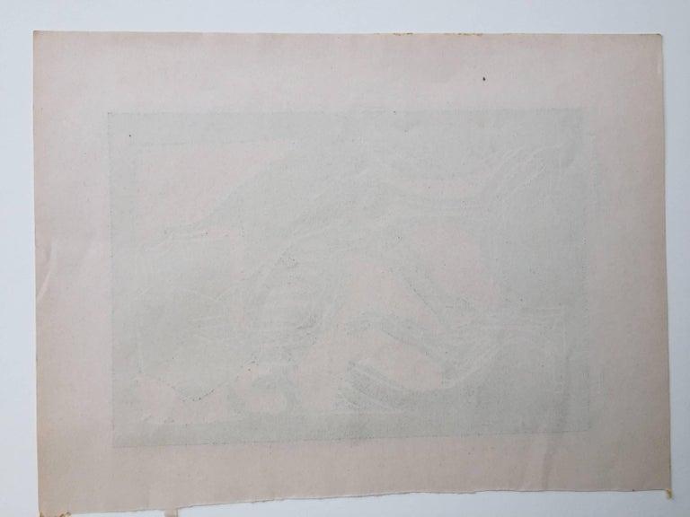 TOD MIT DEM SARG (Death with a Coffin) - Brücke Print by Christian Rohlfs