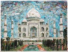Postcards from Nowhere: Taj Mahal