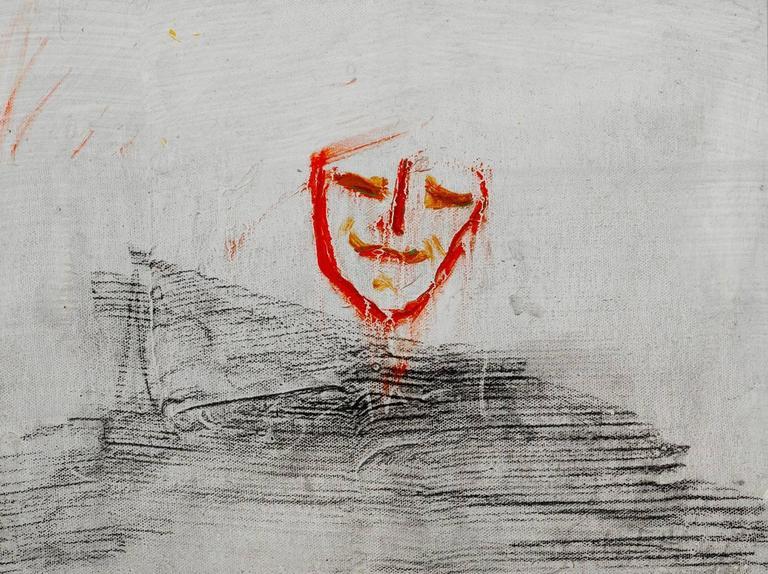 Lawrence Ferlinghetti Painting - Godot