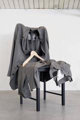 Grey Flannel Suit on Chair