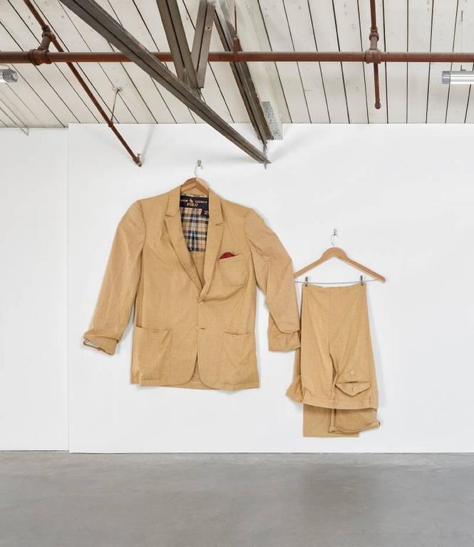Sidney Russell Figurative Sculpture - Ralph Lauren Linen Summer Suit