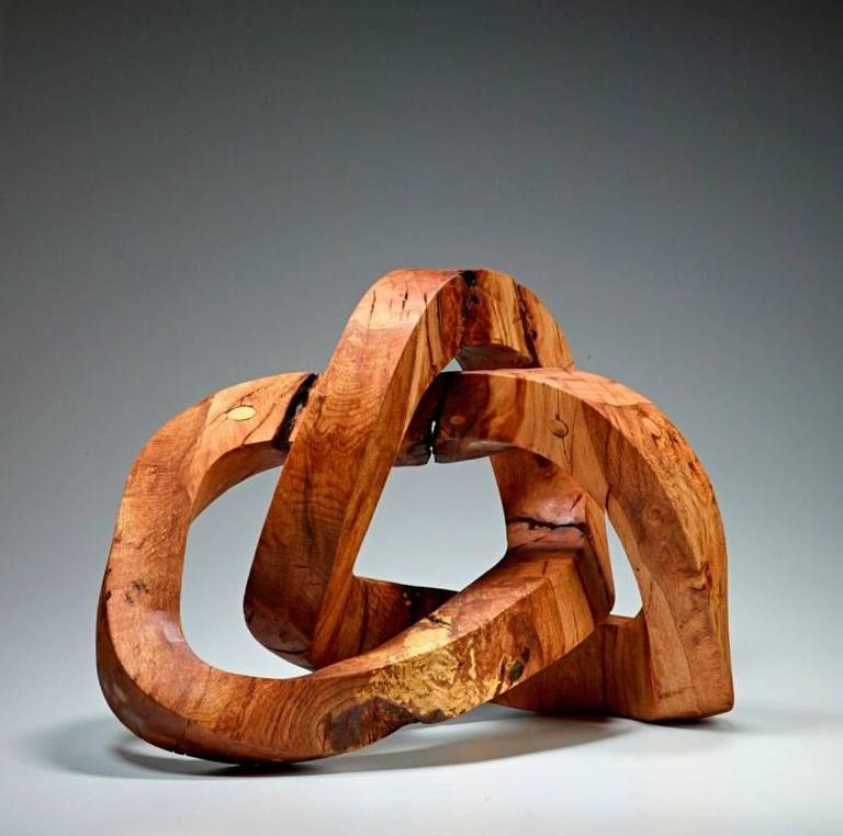 Sam Perry Abstract Sculpture - Seeing but Never Meeting