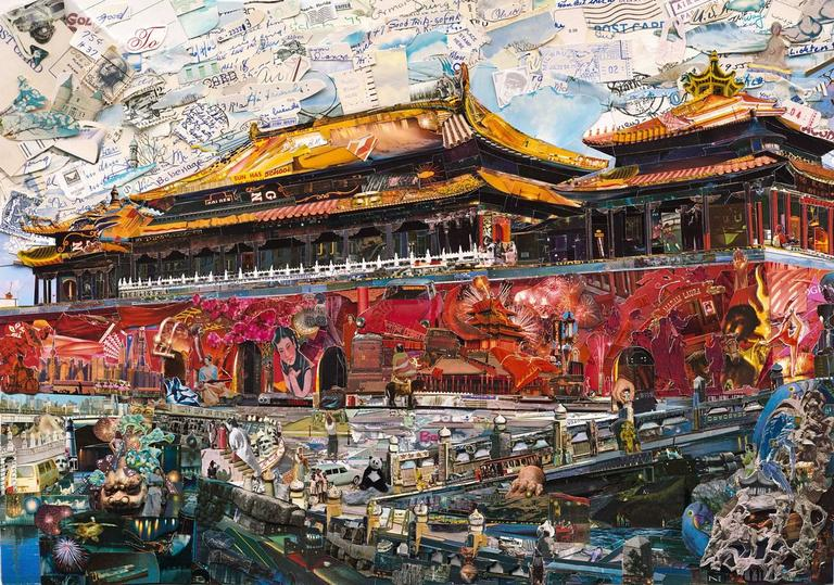 Vik Muniz - Postcards from Nowhere: Forbidden City 1