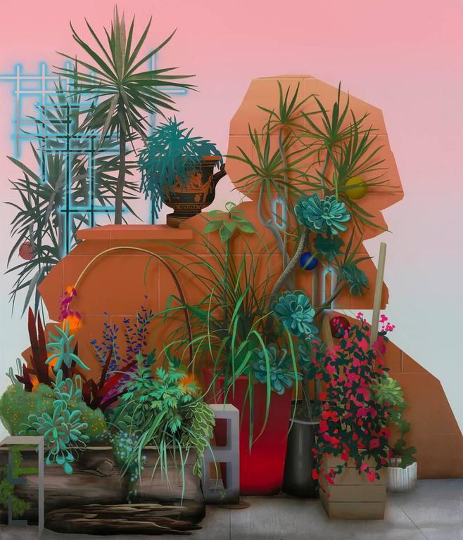 Robert Minervini - Improvised Garden ll (Water Street) 1