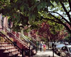 Harlem Redux: Couple Walking
