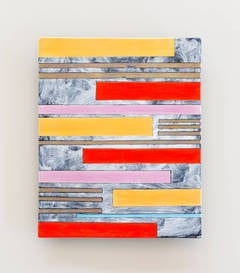 Jun Kaneko - Untitled, Wall Slab