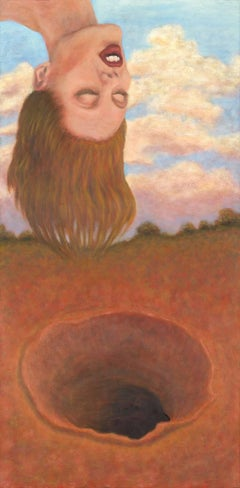 Surrealist Painting -- Sinkhole Dream