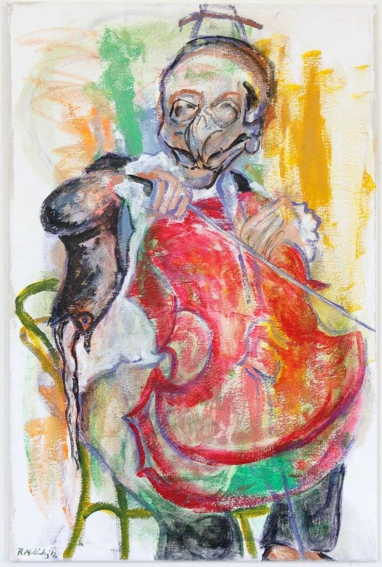 Roxanna Melendez Figurative Painting - Pico de Gallo