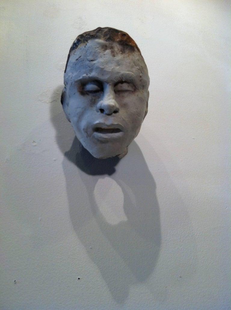 Raul Acero Figurative Sculpture - Ceramic Sculpture -- Circle #3/Circulo #3