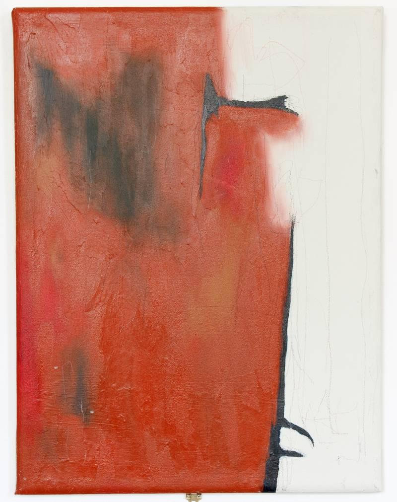 Mixed media on canvas Painting -- Pintura Negra Series