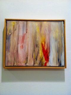 Small Acrylic Abstract Painting -- Inspirador