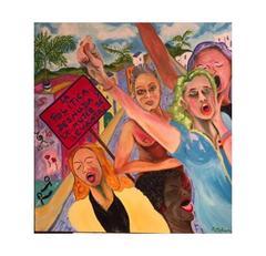 La Política Desnuda y la Mujer se Levanta