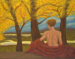 Oil on Canvas Painting -- Autumn Reverie