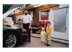 American Culture Series No. 4 [Family at Convenience Store, Albany, NY]