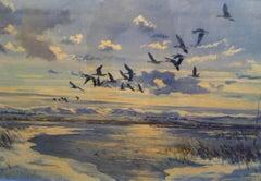 Sporting Art -- Birds in Flight
