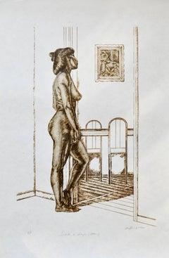 Tribute to Degas (Bather)