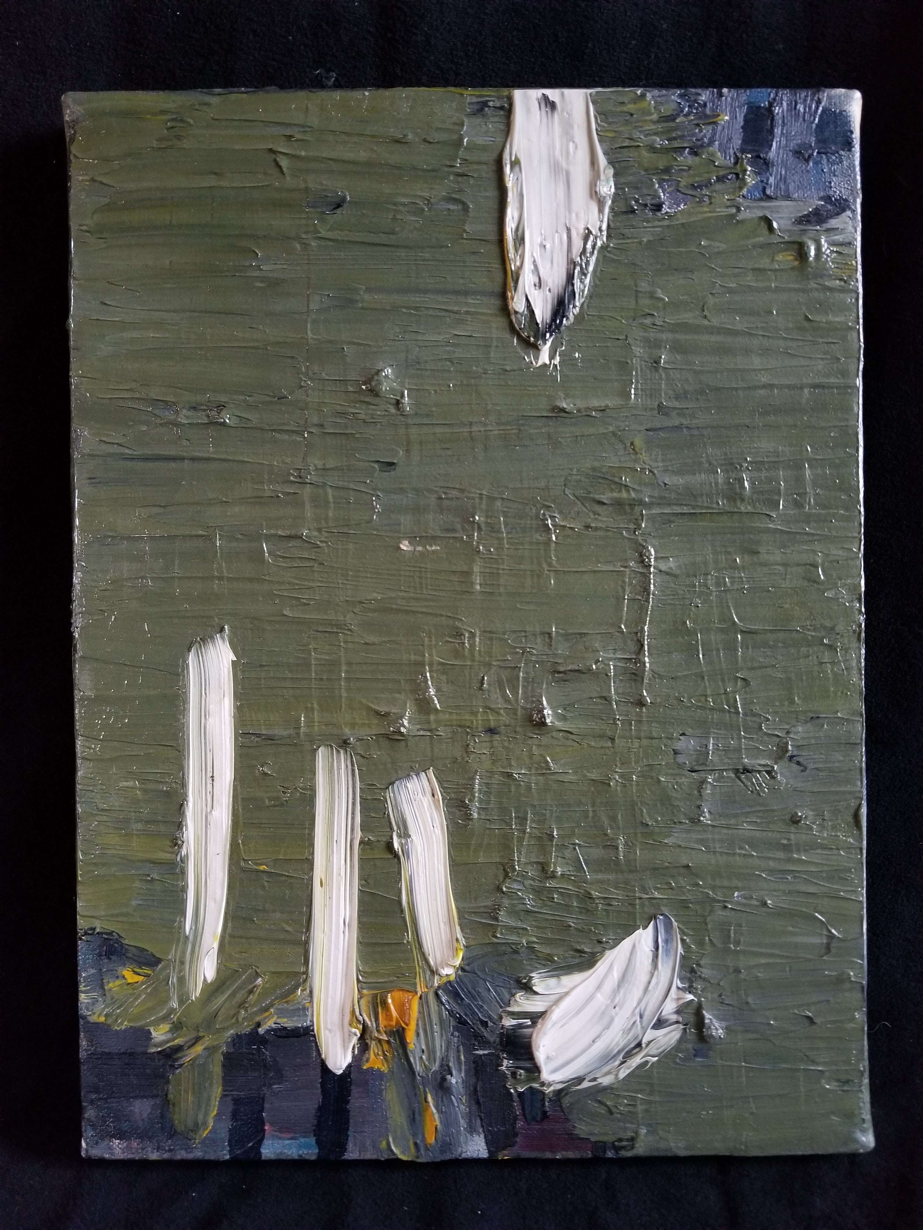 Oil on Canvas Painting -- Dunham Reservoir