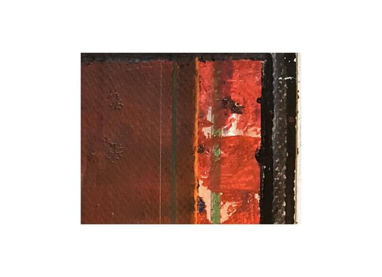 Crimson Door - Painting by George Simmons