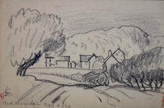 American modernist drawing by Oscar Bluemner