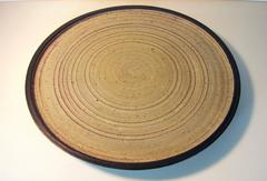 Large pottery charger