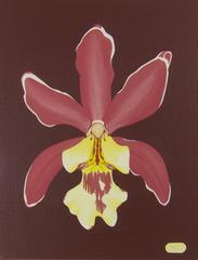 Pop art painting - Orchid