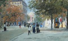 L'Avenue De L'Observitoire - Carlo Brancaccio (1861-1920)