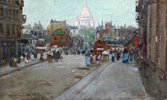 Montmartre - Carlo Brancaccio (1861-1920)
