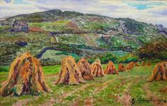 Haystacks at Moisson
