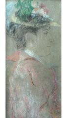 Portrait of Mrs Craigie - The Novelist John Oliver Hobbes