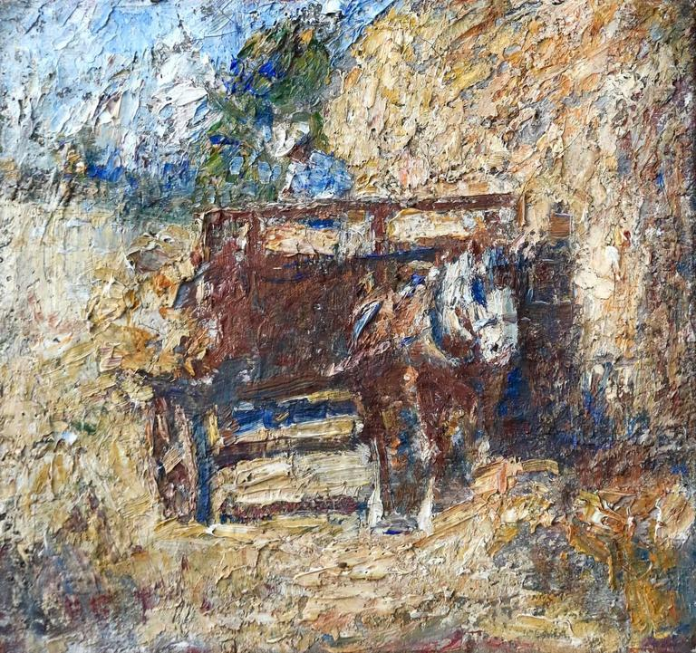 Horse and Haycart