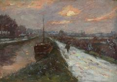 Winter in the Seine