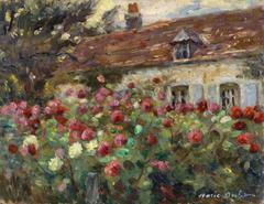 Flowers in the Artists Garden