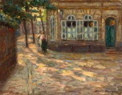 Last light in the Village