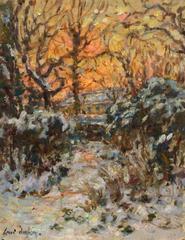 Winter Sunset - The Artists Garden