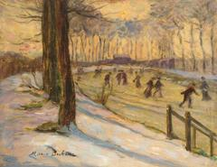 Skaters on River