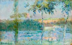 Spring on River Seine