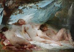 Nymphs Resting