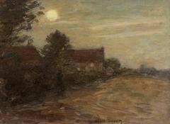 Nocturne over Farm