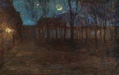 Moonlight in Village