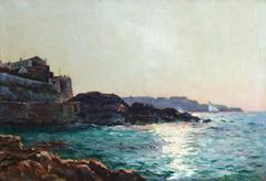 Bord de corniche à Marseille